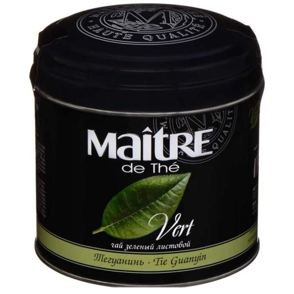 Чай Мэтр зеленый Тегуанинь ж/б
