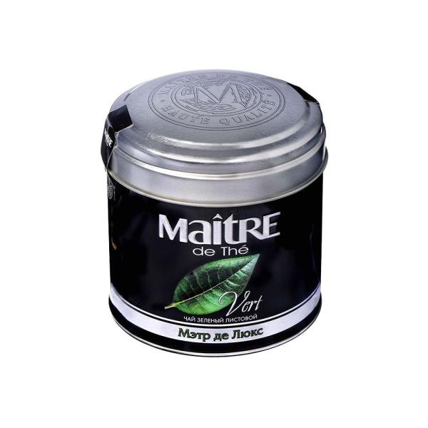 Чай Мэтр зеленый Де Люкс ж/б