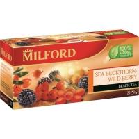 Чай Милфорд черный облепиха-лесные ягоды