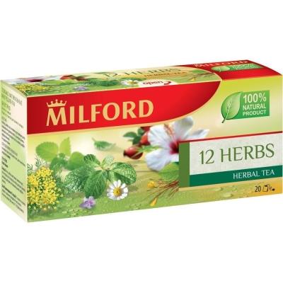 Чай Милфорд 12 трав 20 пак.
