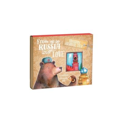 Чай Ягодки Листочки Московский Медведь