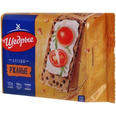 Хлебцы Щедрые ржаные