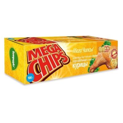 Чипсы Мега чипсы со вкусом курицы