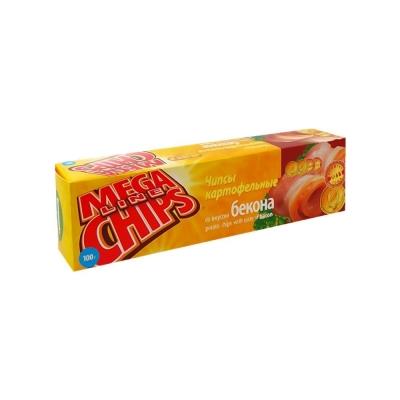 Чипсы Мега чипсы со вкусом бекона