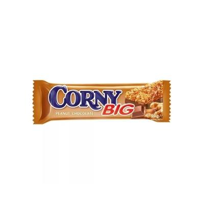 Батончик мюсли Corny BIG  с арахисом и молочным шоколадом