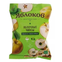 Чипсы яблочные Яблокофф Фрустики из кисло-сладких яблок