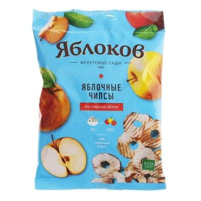Чипсы яблочные Яблокофф Фрустики из сладких яблок