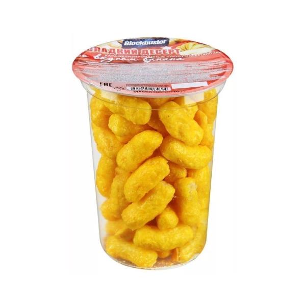 Кукурузные палочки Блокбастер банан