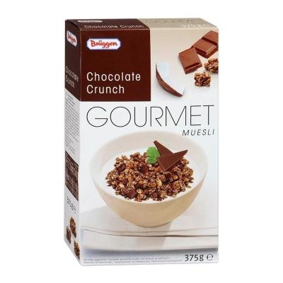 Мюсли Bruggen Gourmet хрустящие с шоколадом