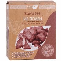 Подушечки полбы Вастэко с какао и молоком