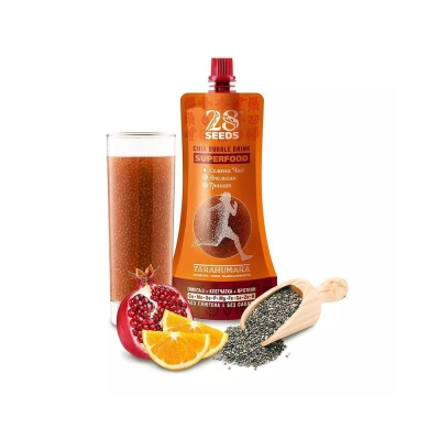 Напиток 28 SEEDS Чиа Апельсин Гранат безалкогольный негазированный