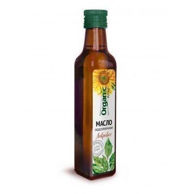 Масло 'Organic life' подсолнечное пряное лавровое