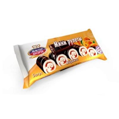 Мини-Рулеты Мастер Десерта абрикос