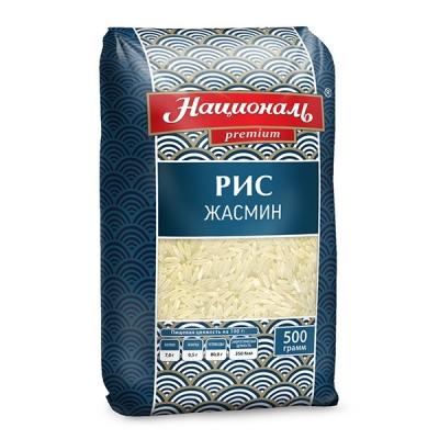 Рис 'Националь Premium' Жасмин длиннозерный