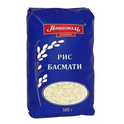 Рис 'Националь Premium' Басмати длиннозерный