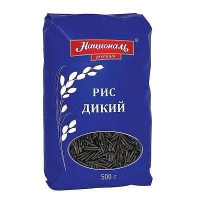 Рис 'Националь Premium' Дикий черный длиннозерный