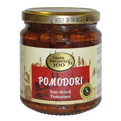 Вяленые томаты в масле 'Cento Percento'