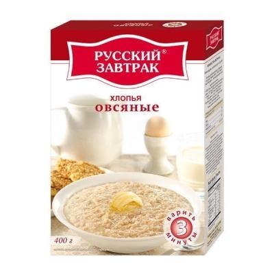 Хлопья 'Русский Завтрак' овсяные