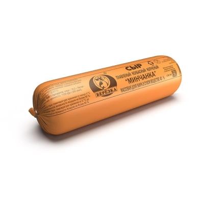 Сыр колбасный Березовский СК плавленный копченый Минчанка 40%