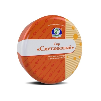 Сыр Березовский СК Сметанковый 50%