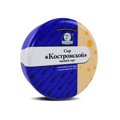 Сыр Березовский СК Костромской 45%