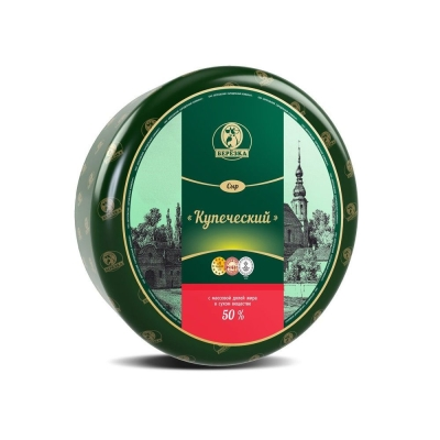 Сыр Березовский СК Купеческий 50%