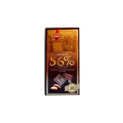 Шоколад Спартак Горький 56% эт-крафт