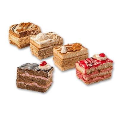 Пирожное Slatini бисквитное ассорти