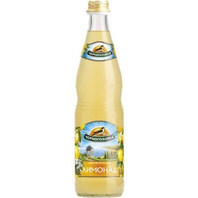 Напиток безалкогольный Напитки из Черноголовки Лимонад Оригинальный сильногазированный  с/б