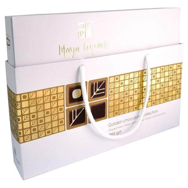 Набор конфет Легенды Майя Премиум белый