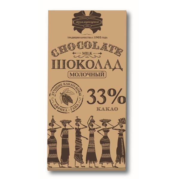Шоколад Коммунарка Молочный эт-крафт