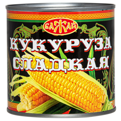 Кукуруза сладкая  'БАЖАЙ'