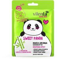 Маска для лица Vilenta ANIMAL MASK SWEET PANDA Выравнивает тон с экстрактом Бамбука и Соевым маслом