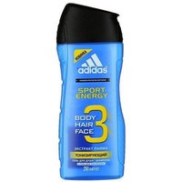 Гель-шампунь для душа Adidas мужской Sport Energy