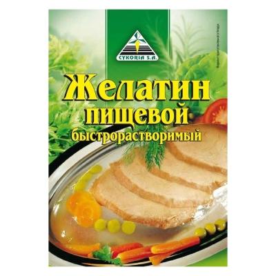 Желатин Cykoria пищевой быстрорастворимый