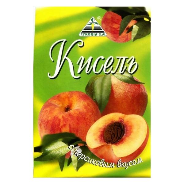 Кисель Cykoria с персиковым вкусом