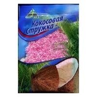Кокосовая стружка Cykoria розовая