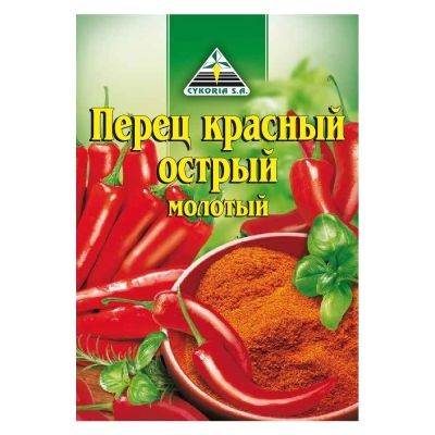 Перец Cykoria красный острый молотый