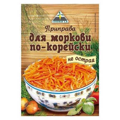 Приправа Cykoria для моркови по-корейски не острая