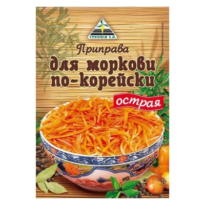 Приправа Cykoria для моркови по-корейски острая