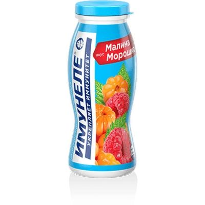 Напиток кисломолочный Нео Имунеле малина-морошка 1,2%