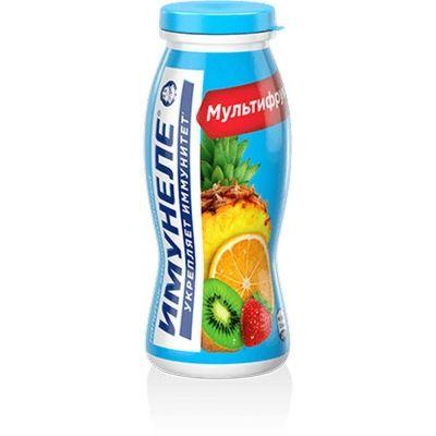 Напиток кисломолочный Нео Имунеле мультифрукт 1,2%