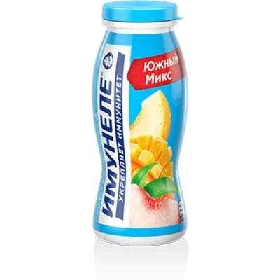 Напиток кисломолочный Нео Имунеле персик-манго-дыня 1,2%