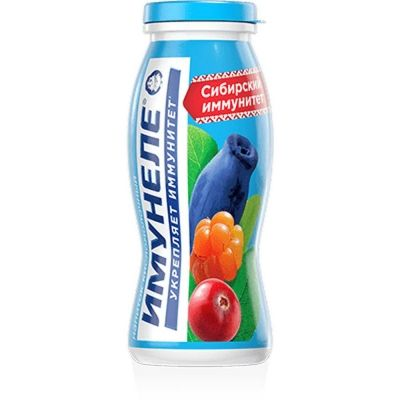 Напиток кисломолочный Нео Имунеле Сибирский Иммунитет 1,2%