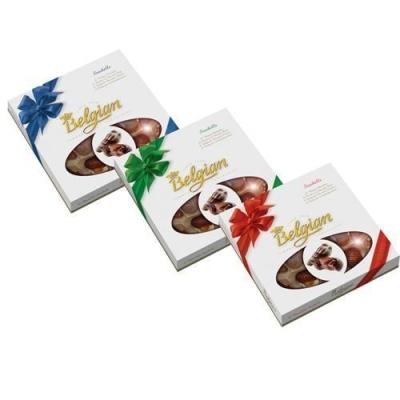 Шоколадные конфеты 'The Belgian' Дары моря Ассорти банты окно