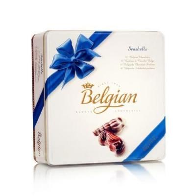 Шоколадные конфеты 'The Belgian' Дары моря (металл)