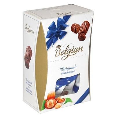 Шоколадные конфеты 'The Belgian' Дары моря из молочного шоколада с ореховой начинкой