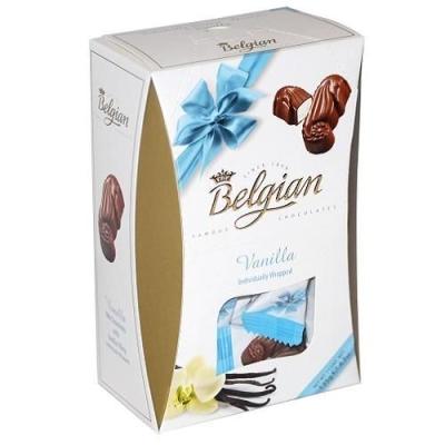 Шоколадные конфеты 'The Belgian' Дары моря из молочного шоколада с ванильной начинкой