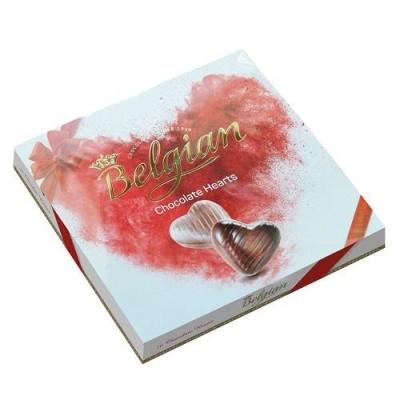 Шоколадные конфеты 'The Belgian' сердечки красный бант