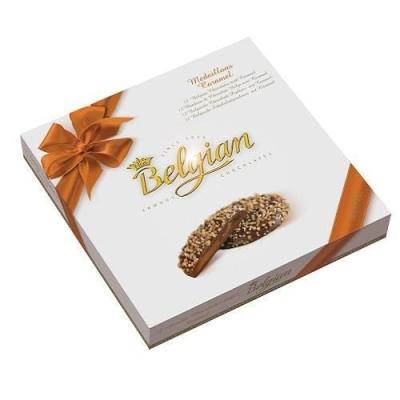 Шоколадные конфеты 'The Belgian' медальоны с карамельной начинкой